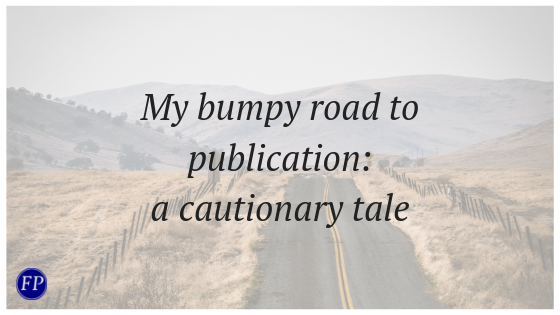 my bumpy road to publication