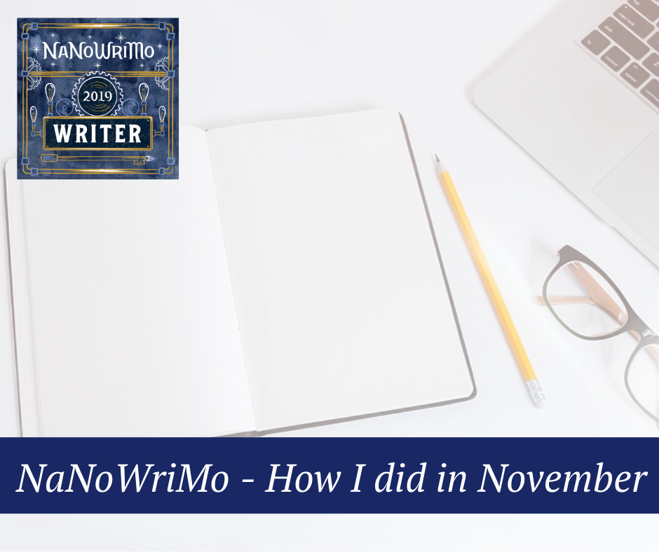 NaNoWriMo - How I did in November