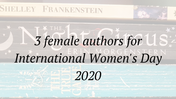 3 female authors for international women's day 2020