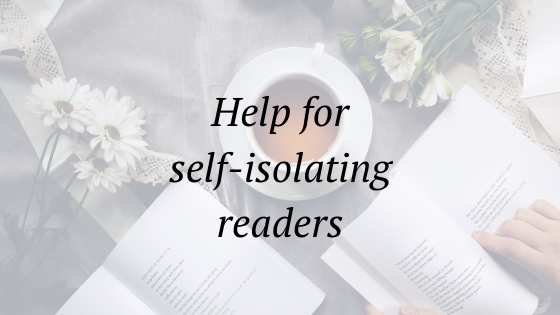 help for self isolating readers