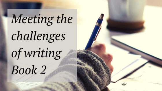 meeting the challenges of writing book 2